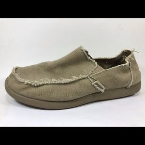 Crocs Canvas Loafers Distressed 12